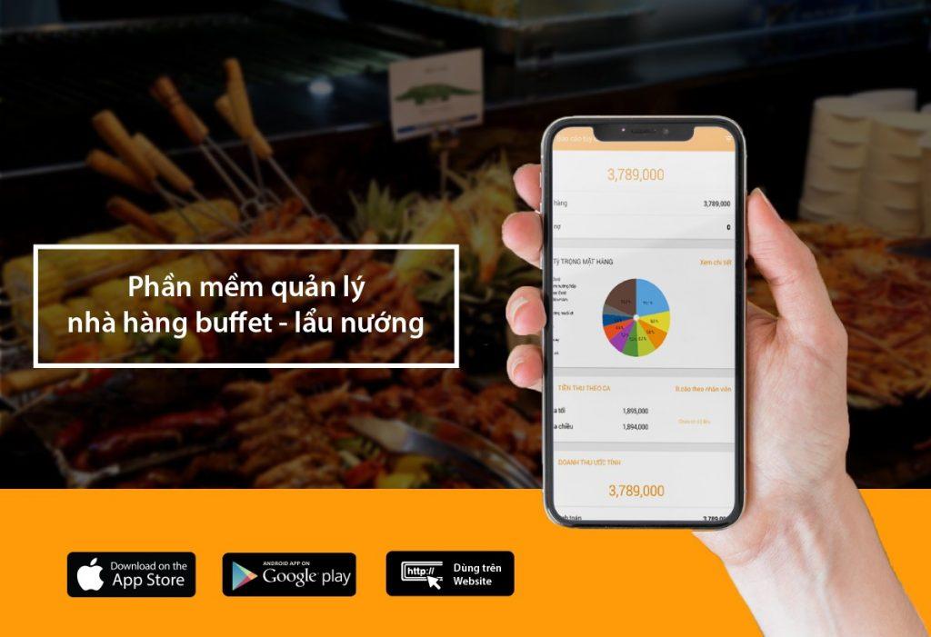 phần mềm quản lý nhà hàng buffet