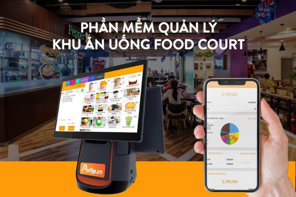 Phần mềm quản lý food court
