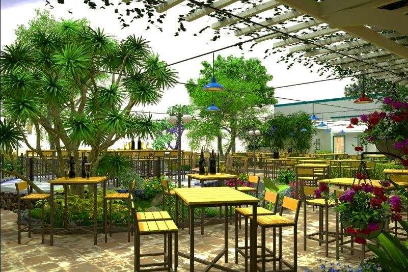 quán anh nhà hàng sân vườn