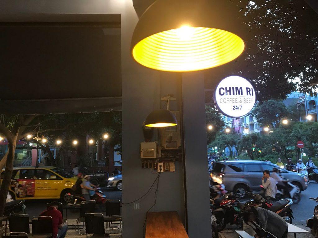 coffee chim ri