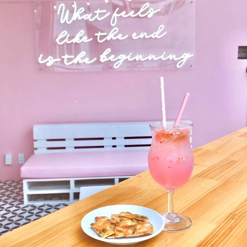đồ uống tại pinkroom