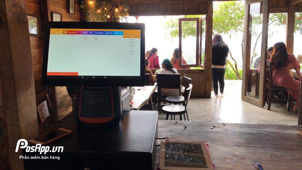 máy tính tiền quán cafe đà lạt