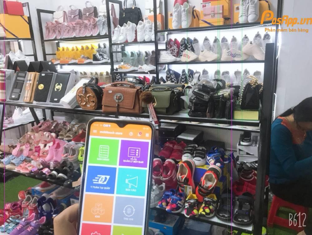 phần mềm shop giày