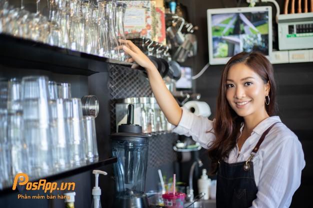 quản lý nhân viên cafe