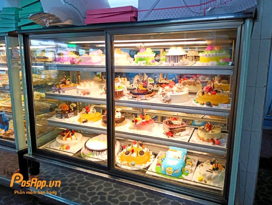 tiệm bánh kem hồng ân