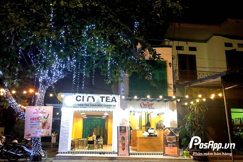 trà chanh city tea