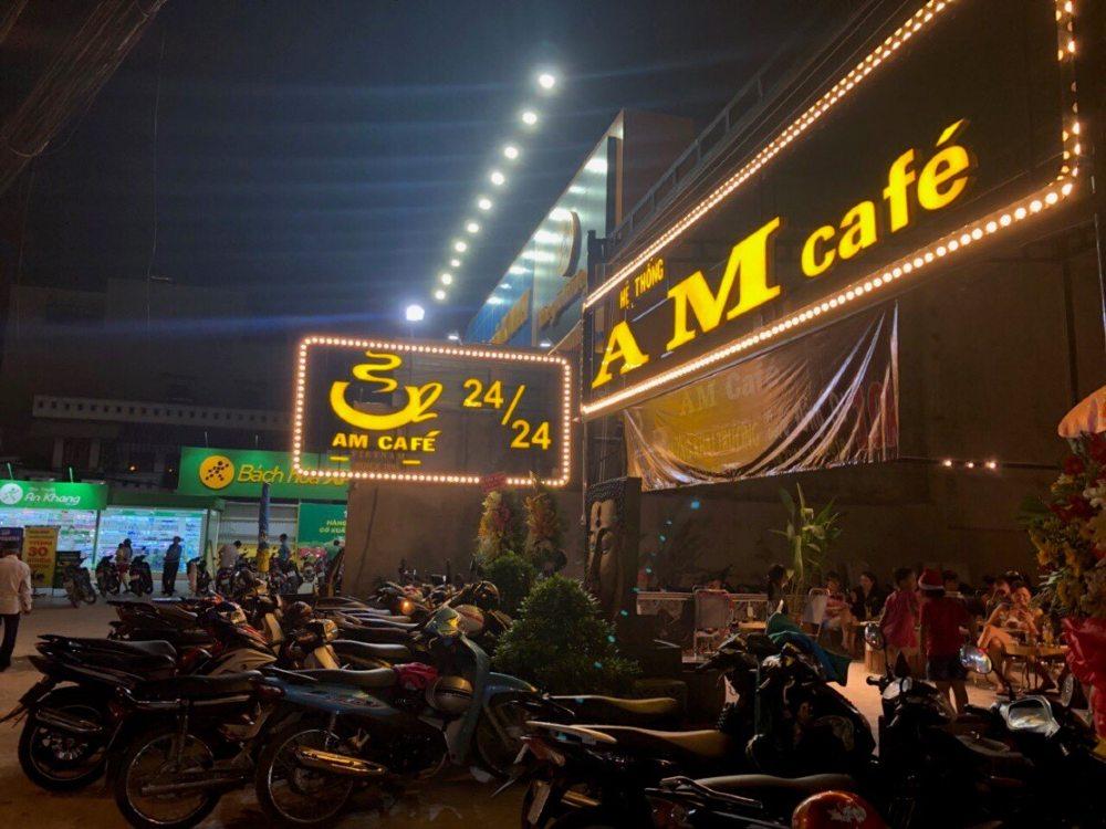 nhượng quyền AM Cafe