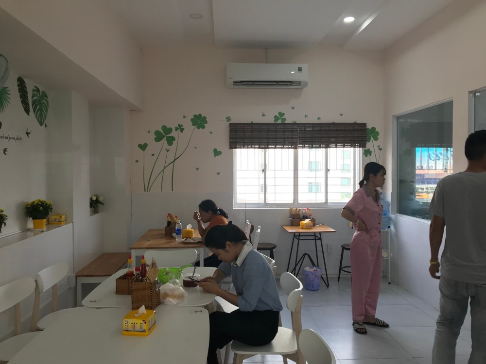 Không gian thoáng đãng tại bệnh viện phụ sản MeKong