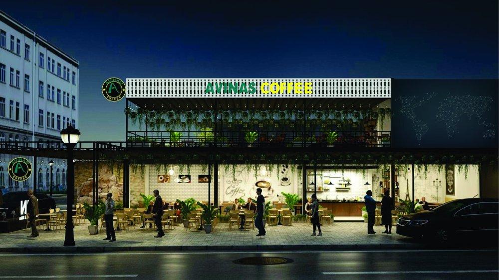 mô hinh kinh doanh nhượng quyền quán Coffee Avinas