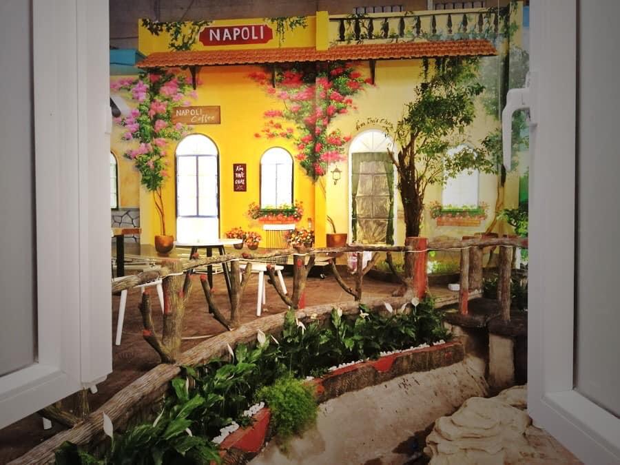 nhượng quyền kinh doanh quán cafe Napoli