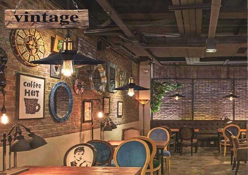 Xác định phong cách quán cafe