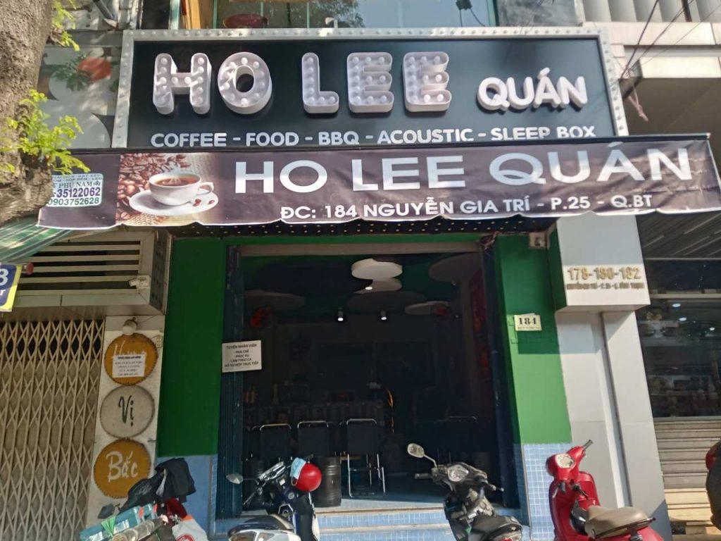 Ho Lee Quán với mô hình kinh doanh phong phú