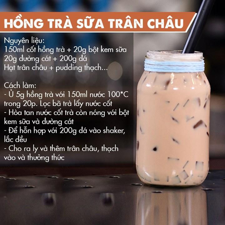 Hồng trà sữa trân châu