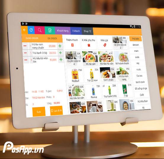 lợi ích menu điện tử