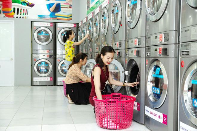 Nhượng quyền cửa hàng giặt ủi