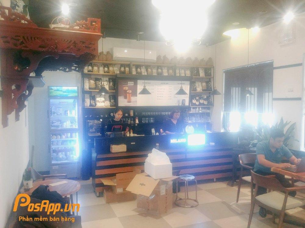 PosApp đồng hành cùng Milano Coffee