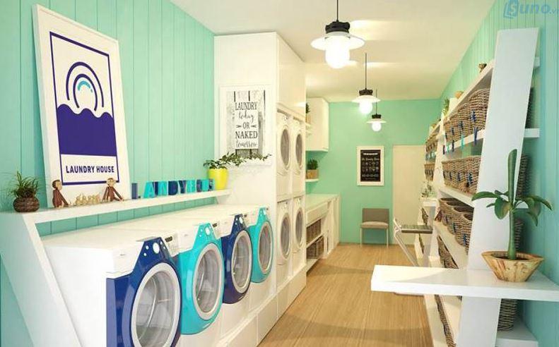 tiệm giặt ủi