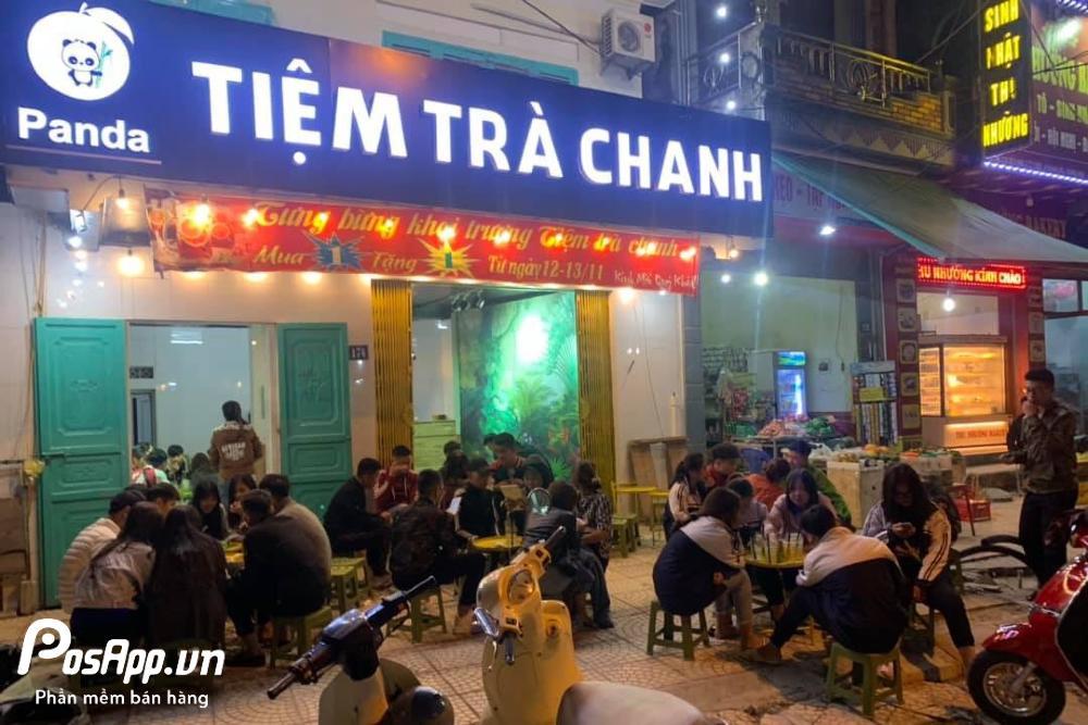 tiệm trà chanh panda