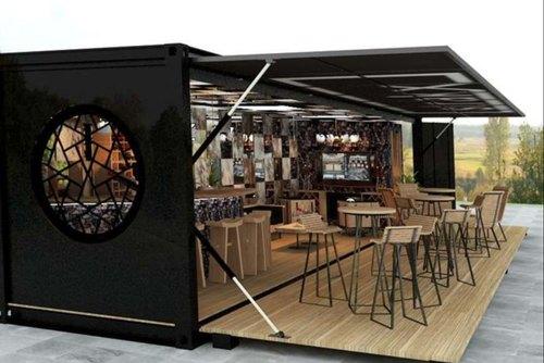 mô hình cafe container
