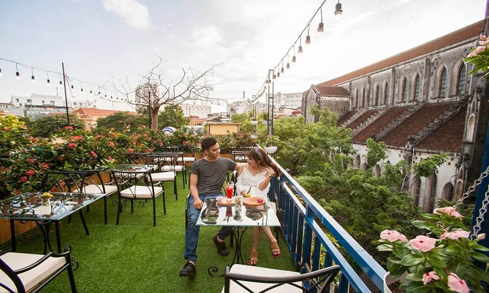 mô hình kinh doanh quán cafe sân vườn