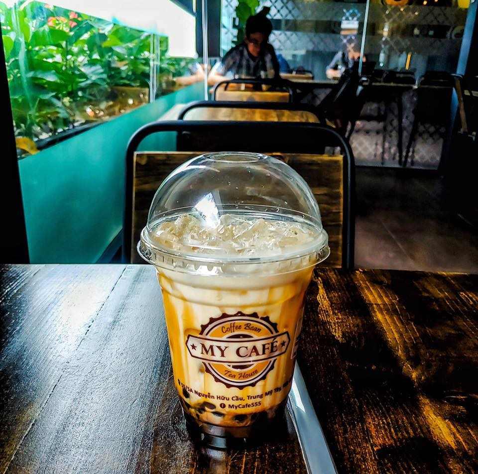 nước uống tại my cafe