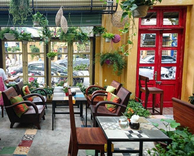 mẫu thiết kế cafe sân vườn đẹp
