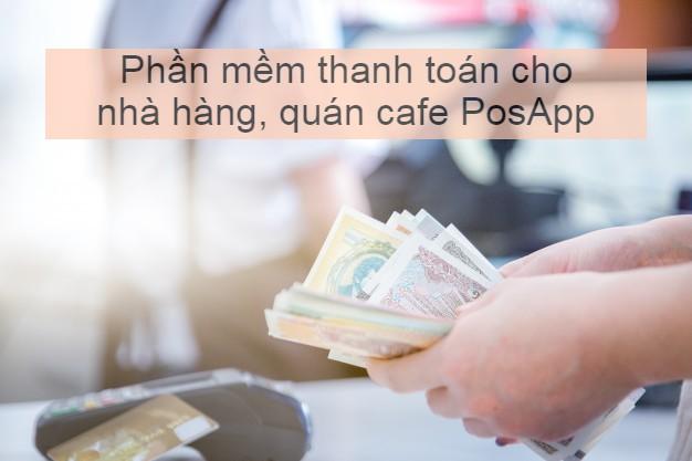 phần mềm thanh toán