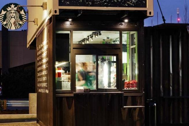 Starbucks Reclamation Drive-thru