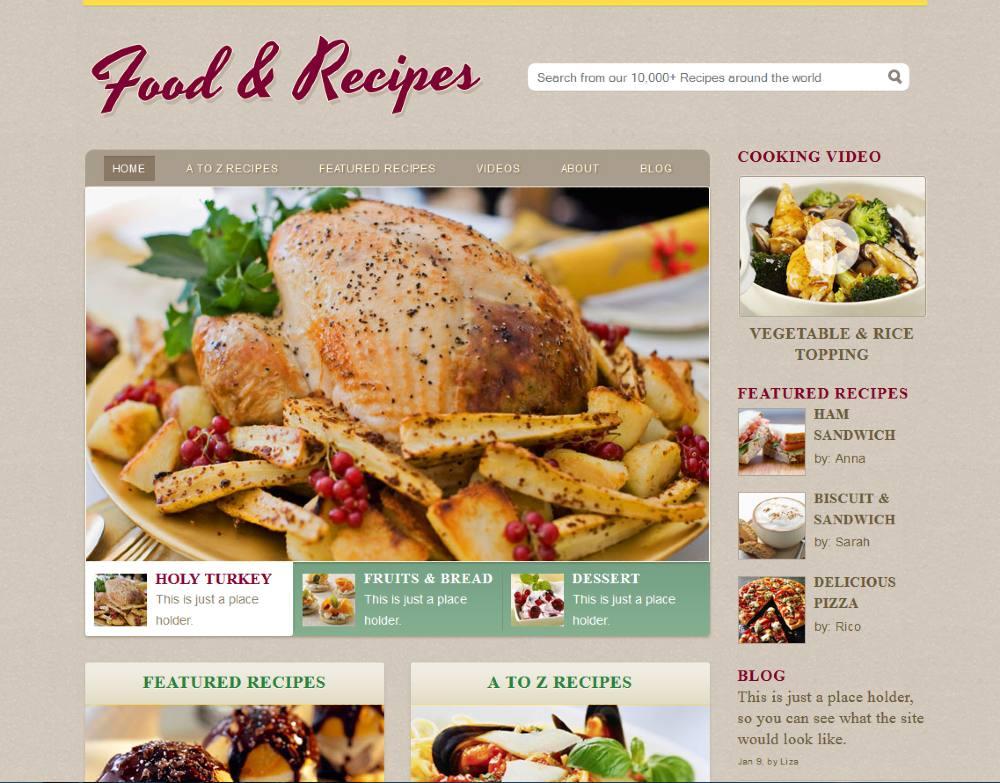 lập website quảng cáo nhà hàng