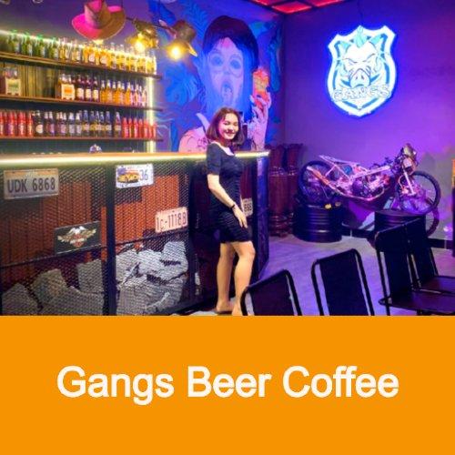 gangs beer coffee