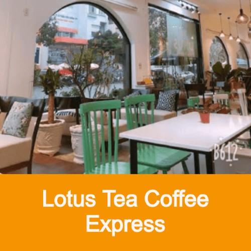 lotus tea coffee