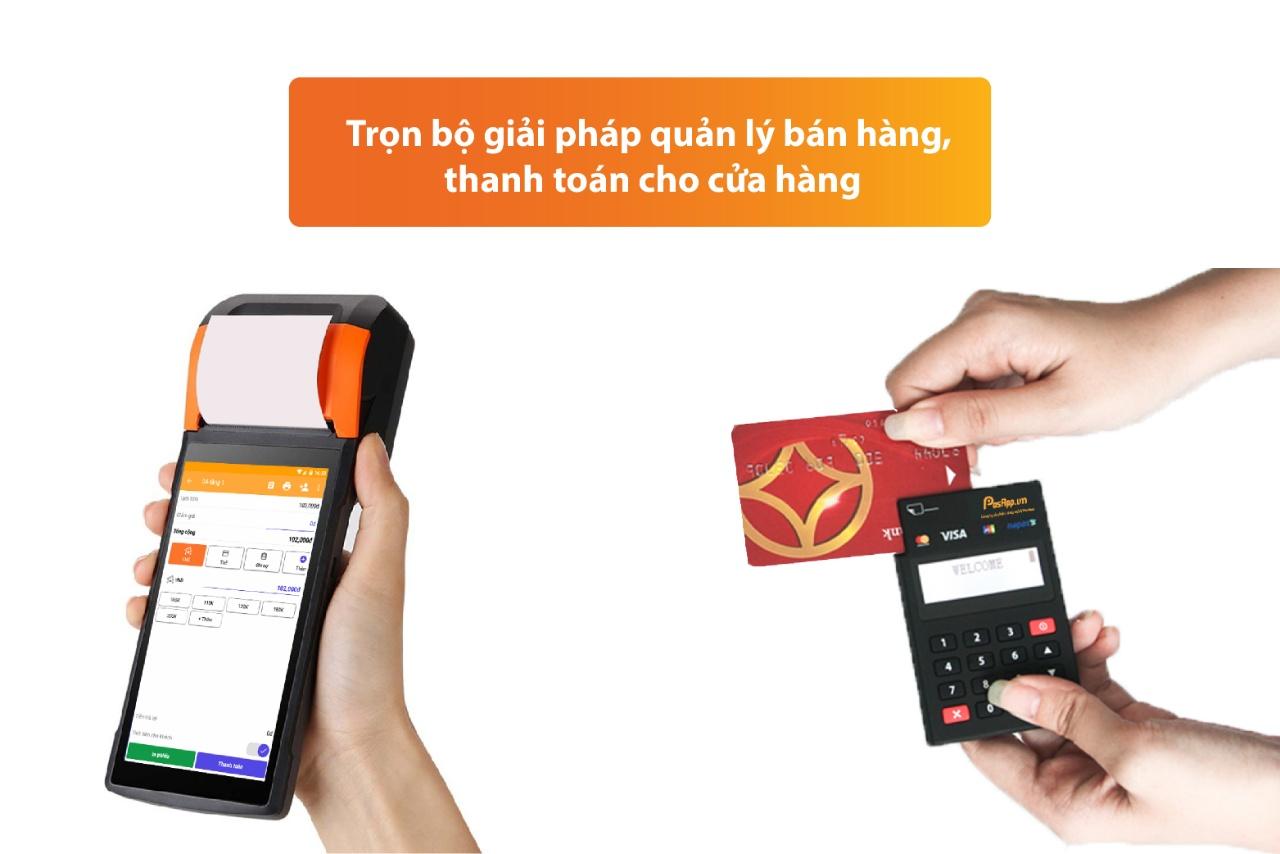 máy pos quẹt thẻ bán hàng