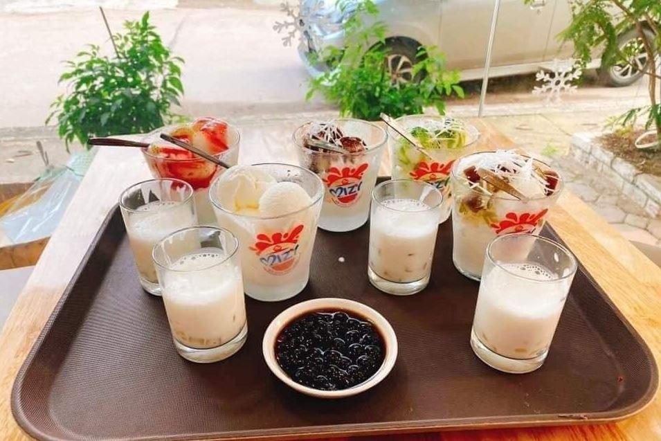 sữa chua mizy