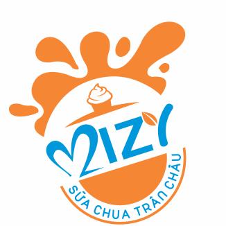 logo thương hiệu sữa chua Mizy
