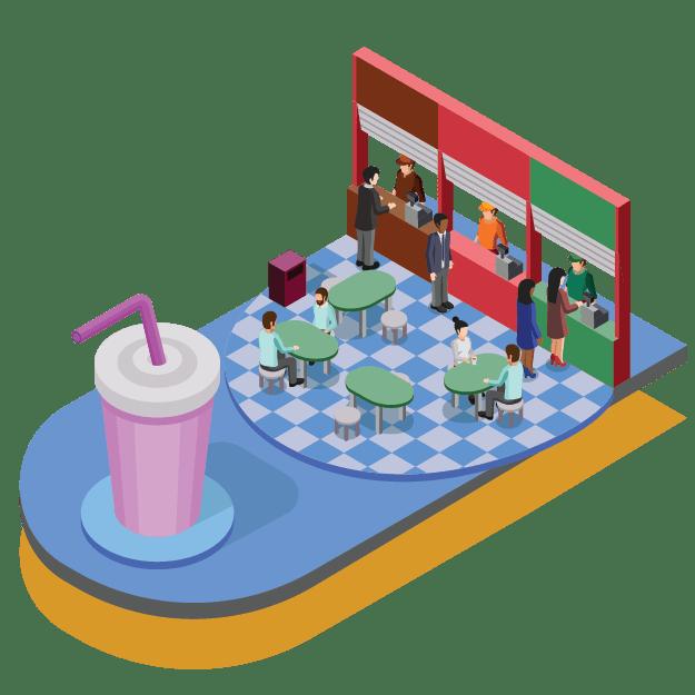 thẻ tự phục vụ quán trà sữa