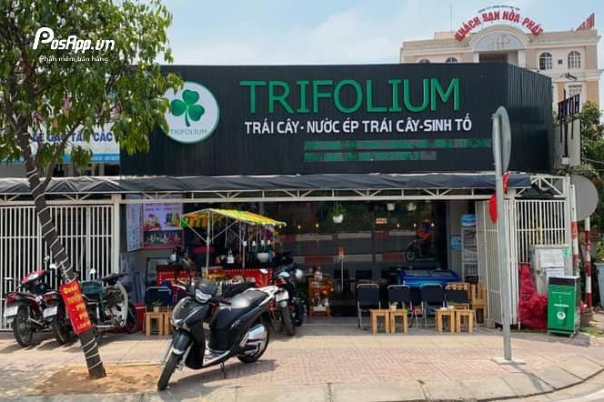 quán nước ép trái cây Trifolium