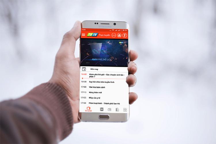 app truyền hình trực tuyến