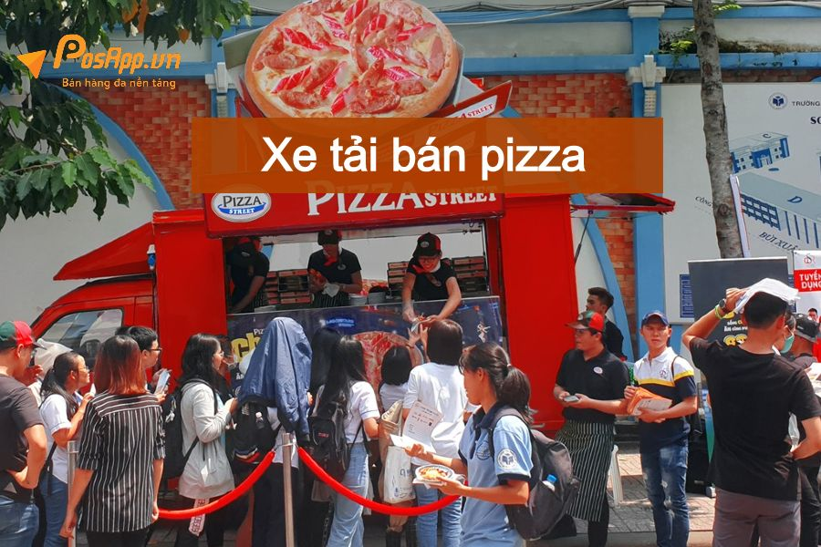 Xe tải bán pizza lưu động
