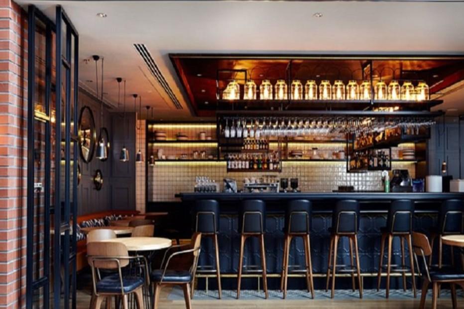 khu quầy bar