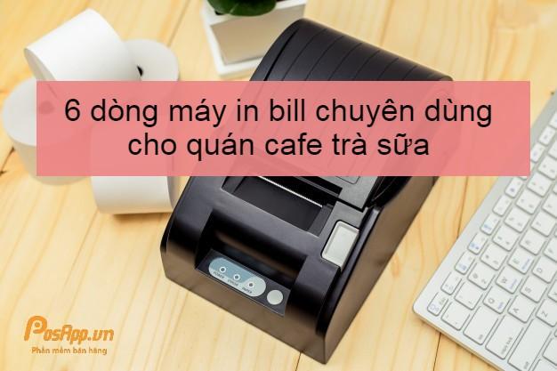 máy in hóa đơn cho quán cafe