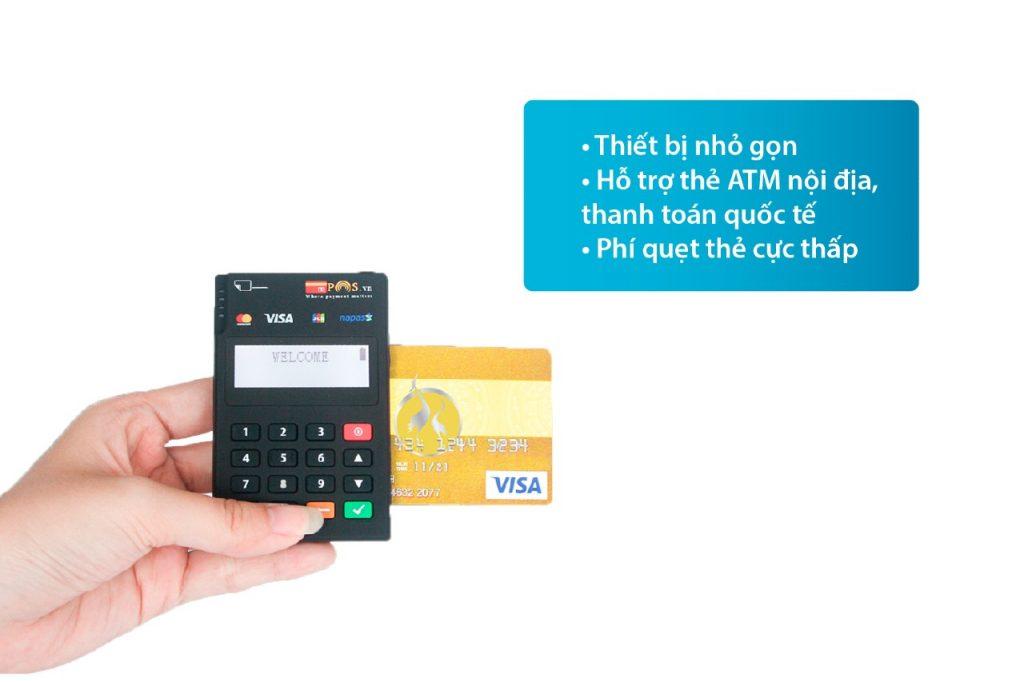 máy pos quẹt thẻ thanh toán