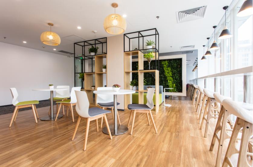 mô hình cà phê văn phòng