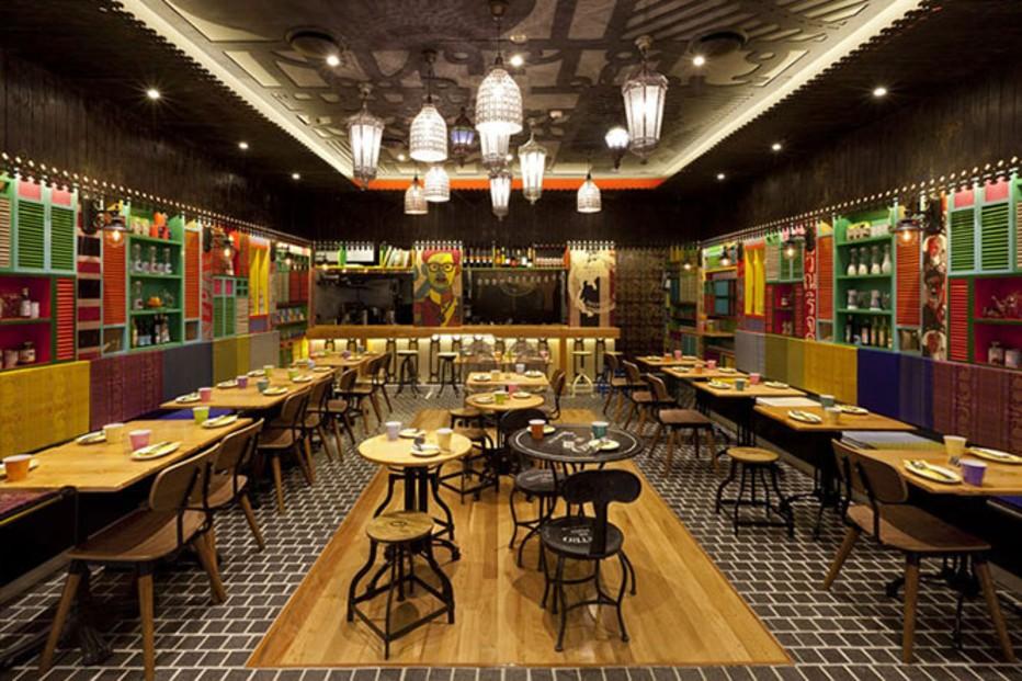 phong cách nhà hàng Thái