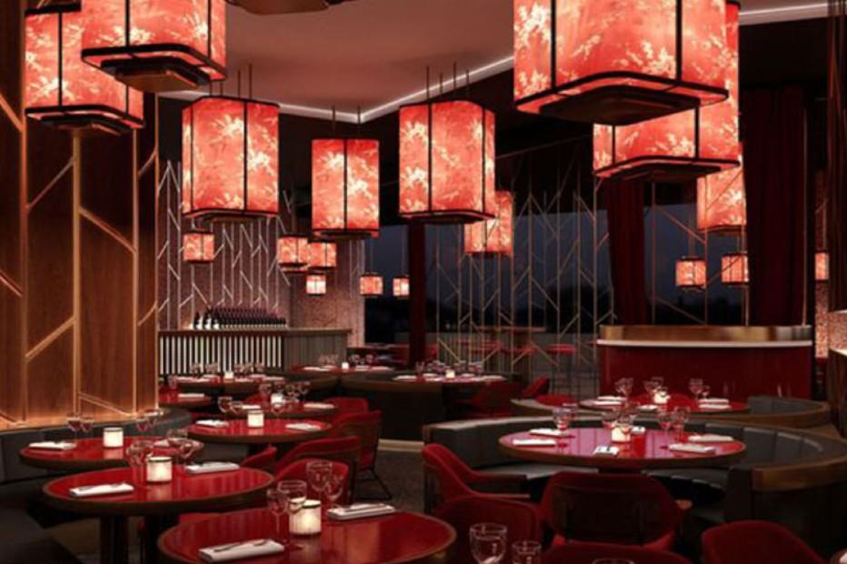 thiết kế nhà hàng TQ