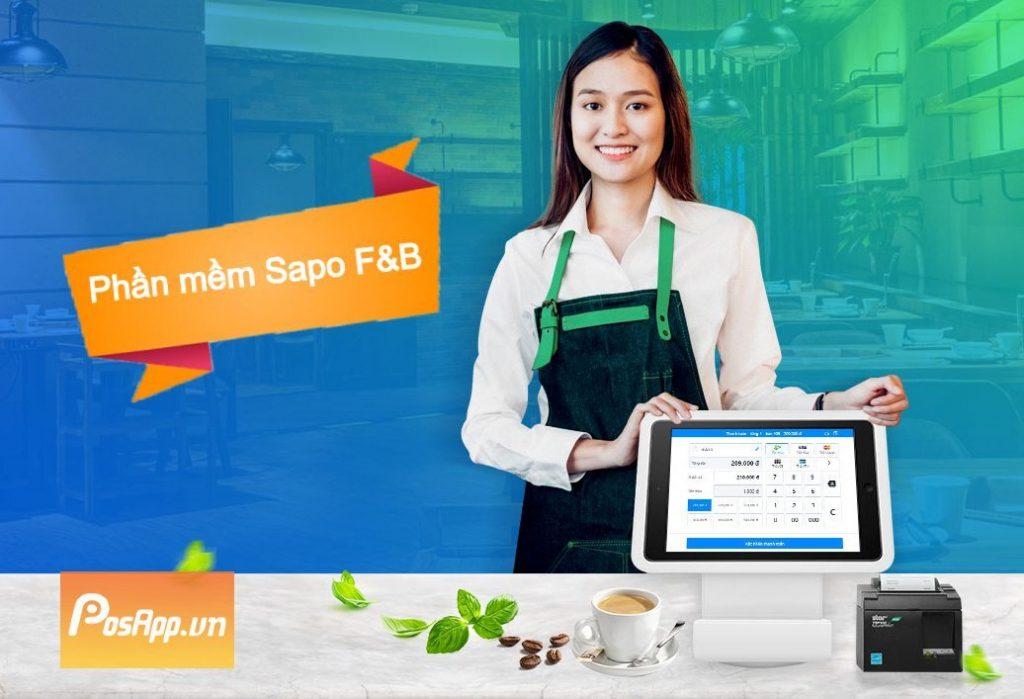 phần mềm quản lý nhà hàng quán ăn sapo fnb