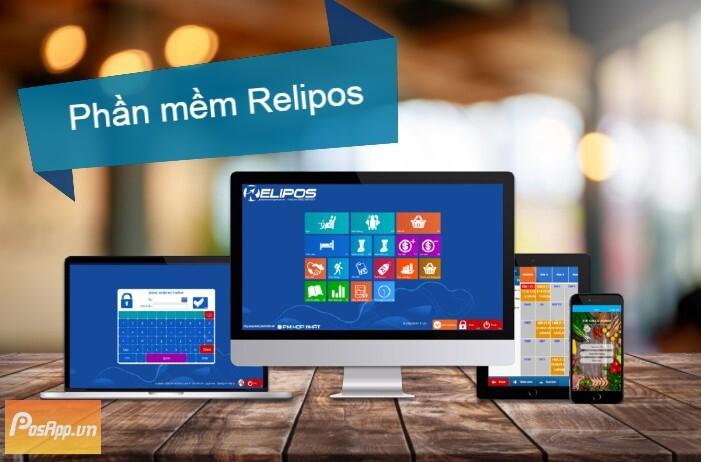 phần mềm quản lý tính tiền relipos