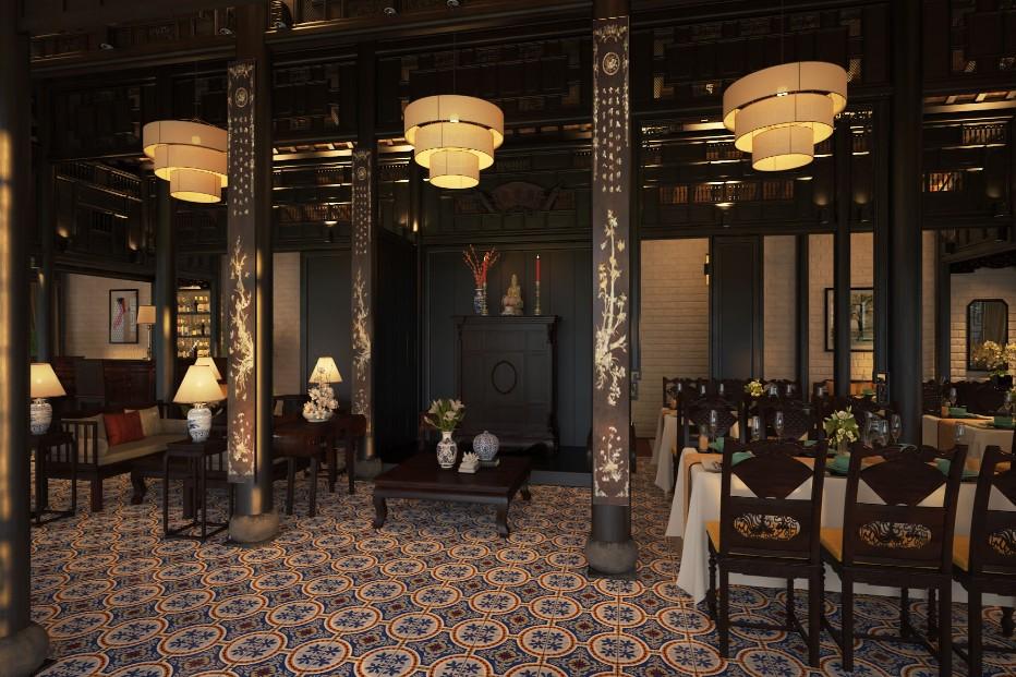 phong cách nhà hàng xưa