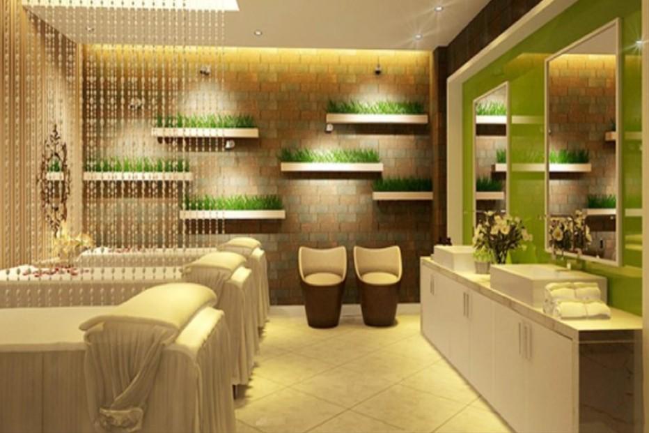 mẫu gương cho spa