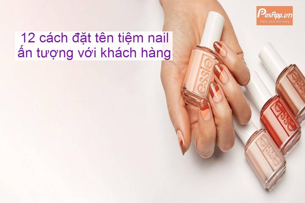 đặt tên tiệm nail