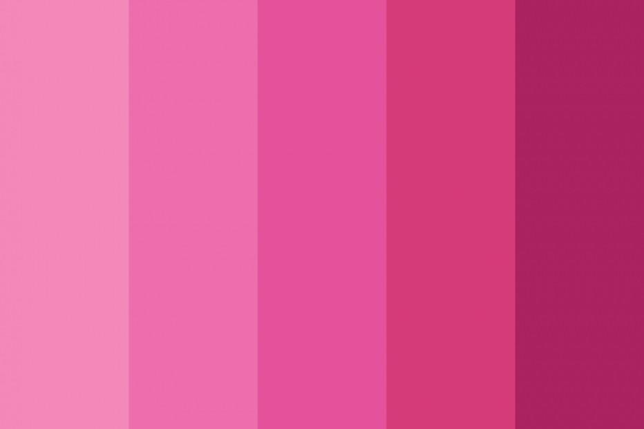 tông màu hồng